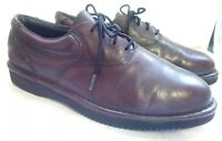Florsheim Comfortech Men's Brown Burgundy Leather Lace up Oxfords Size 9 M