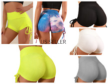 Tiktok  Womens Booty Shorts Lot of 950 wholesale 5 colors 4 sizes