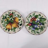 Sakura Sonoma Oneida Excell Fruit Salad Luncheon Desert Plates Set of 2