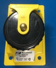Russellstoll 9r53u2w 50 Amp 2 Pole 3 Wire Weatherproof Pin And Sleeve Receptacle