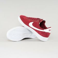 Nike Bruin Suede Leather Men's Classic Old-School Sneakers Shoes Red US 8.5