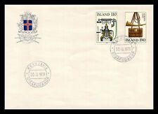 Iceland 1979 FDC, Europa CEPT XX. History Posts and Telecommunications. Lot # 2.