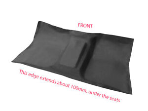 To suit Ford F100 F250 F350 1968-1981 Moulded Rubber Vinyl Front Floor