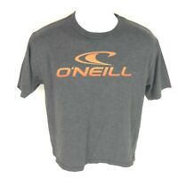 O'Neill Men's Gray Orange T-Shirt L