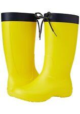 Crocs Freesail Women's Rain Boot yellow uk 3 EU 35 brand new Wellingtons