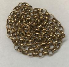 Gold Belcher Chain 9ct Solid Gold Men