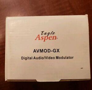 Eagle Aspen AVMOD-GX UHF Digital A/V Modulator