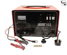 Maypole Heavy Duty Steel 30 Amp 12v/24v Car Van Tractor Battery Charger #MP750
