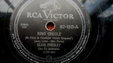 ELVIS PRESLEY - King Creole 78 RPM BRAZIL on VG+  ========It's NOT lp mono promo