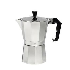 Coffee Percolator Moka Pot Stove Top Italian Style Espresso Maker 6 Cup