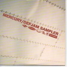 (AE390) Mercury/Defjam Compilation Sampler - DJ CD
