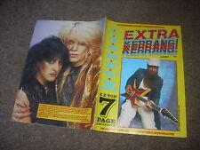 KERRANG  Extra  Classic  Rock / Metal Quarterly  magazine  1984   # 3