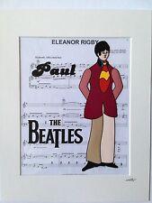 The Beatles - Paul McCartney - Yellow Submarine - Hand Drawn & Hand Painted Cel
