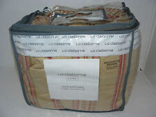 "NEW Liz Claiborne Home Steamer Stripe Matlasse Sofa Slipcover 79""-96"""
