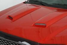 2007 Dodge Ram 3500 Pickup TRX4 Smooth Hood Scoops 2 pc 11.5 x 30 x 2 Hoodscoop