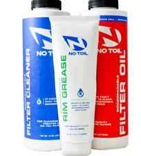 Luftfilterset BIO NO-Toil Luftfilter Reiniger ÖL Fett NOTOIL MX Motocross Enduro