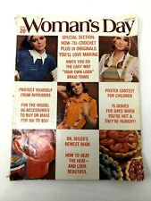 Womans Day, August 1971Dr Seuss The Lorax excellent 70s fashion, ads, crafts