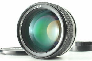 [MINT] Nikon Ai-s Nikkor 85mm f/1.4 MF Lens From JAPAN
