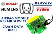 HONDA CRV 77960-SWA-E231-M4 AIRBAG SRS MODULE CRASH DATA RESET REPAIR SERVICE