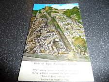 ROCK OF AGES   BURRINGTON COMBE    COLOUR PHOTOGRAPH  VINTAGE POSTCARD