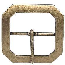 """Reenactment Belt Buckle 2"""" Antique Brass 1588-09"""