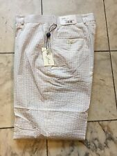 NWT Palm Beach Multi Color Seersucker Dress Pant Regular Flat Front Size 40/30