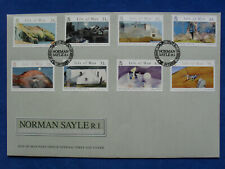 Isle of Man FDC 12.04.2007 NORMAN SAYLE