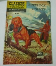 1960 CLASICOS classics illustrated comic SHERLOCK HOLMES #96 la prensa MYSTERIES