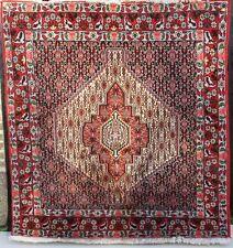 TAPPETO Orientale 126x140 Tappeto Orient antico mano intessuti ponte molto bella! 136
