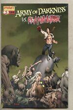 Army Of Darkness Vs Re-Animator #3-2005 nm- Mel Rubi variant cover Evil Dead