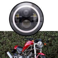 Halo LED Headlamp Fit 93-08 Ducati Monster 1000 600 620 695 750 800 900 S4 Sport