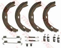 GS8745 TRW Brake Shoe Set, parking brake Rear Axle