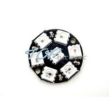 New listing 7-Bit Ws2812 5050 Rgb Led Ring Round Decoration Bulb Arduino