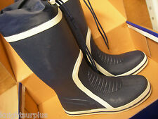 WAVELINE WHITBY SAILING BOOTS YACHTING BOATING NON SLIP NON MARKING RUBBER UK 5