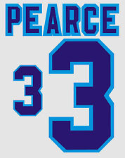 Euro 1996 Pearce 3 England Home Football Name set for National shirt