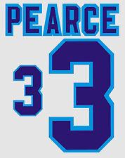 Euro 1996 Pearce 3 England Home Football Name set for National shirt