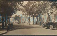 "1924 photo Dinard A street Scene Cars France July 5.5x3.5"""