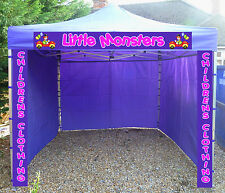 UKexpo Market Stall Catering Trailer Gazebo Pop Up Event Tent hexagon frame