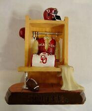 Oklahoma University Sooners Ceramic Locker Figurine by Talegaters