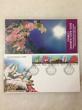 (JC) Marine Life (4th Series) Coral of Malaysia 1992 - FDC