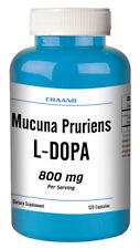 Mucuna Pruriens Extract L-DOPA 120 Capsule 800mg Serving 400mg Capsule =SALE= CH