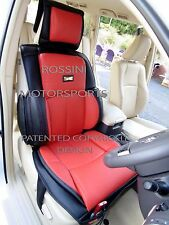 i - TO FIT A VAUXHALL ASTRA CAR, SEAT COVERS, YS06 RECARO SPORTS, RED / BLACK