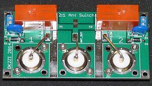 KIT 2:1 1.8-50MHz remote antenna switch DIY cheap SO-239 KIT