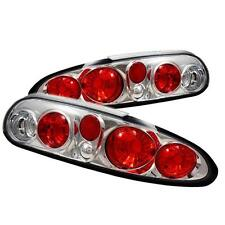 Pair Euro Style ALtezza Tail Lights Lamps Chevy Camaro 1993-2002 Chrome 1 yr War
