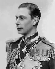 KING GEORGE VI OF THE UNITED KINGDOM Glossy 8x10 Photo Print Military Poster