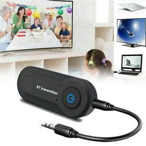 Bluetooth Audio Transmitter Adapter Wireless Stereo Sender TV Speaker Dongle USB