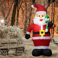 Santa Claus Snowman Outdoor Inflatable Christmas Decorations LED Lights Blow-Up