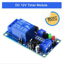 12V Delay Relay Normally Open Module Circuit Timer Timing Board Switch Trigger