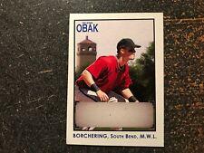 Bobby Borchering 2010 TriStar OBAK Autograph RARE HAND CUT NO AUTO PROOF CARD