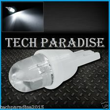 1x Ampoule T10 / W5W / W3W LED Bulb Blanc White veilleuse lampe light 12V Auto
